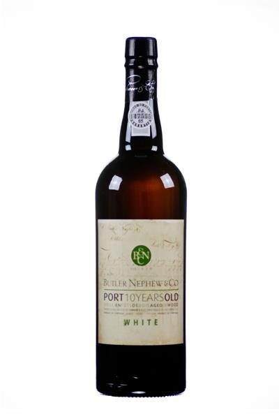 Butler Nephew & Co Port 10 Years Old WHITE