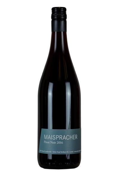 Maispracher Pinot Noir AOC, Siebe Dupf Kellerei