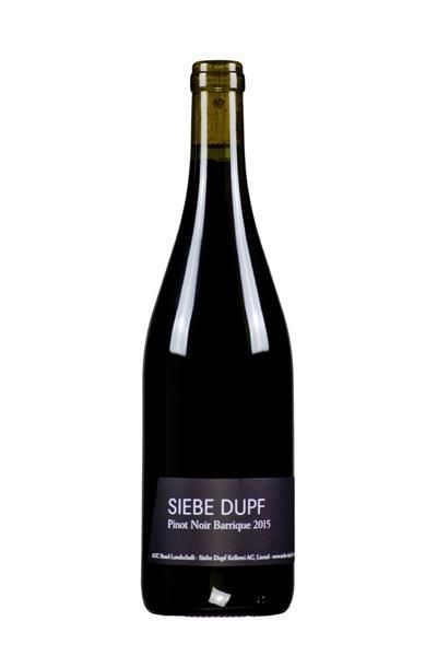 Siebe Dupf Barrique Pinot Noir, Siebe Dupf Kellerei
